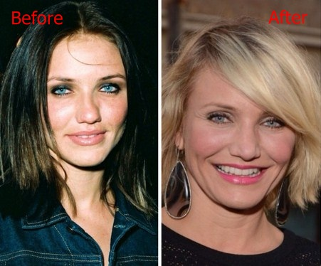 Cameron Diaz No Makeup