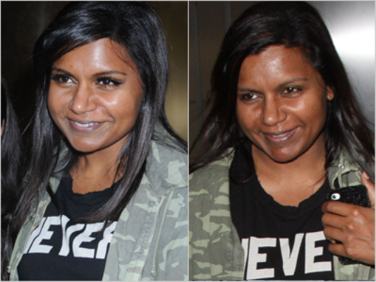Mindy Kaling Without Makeup Picture