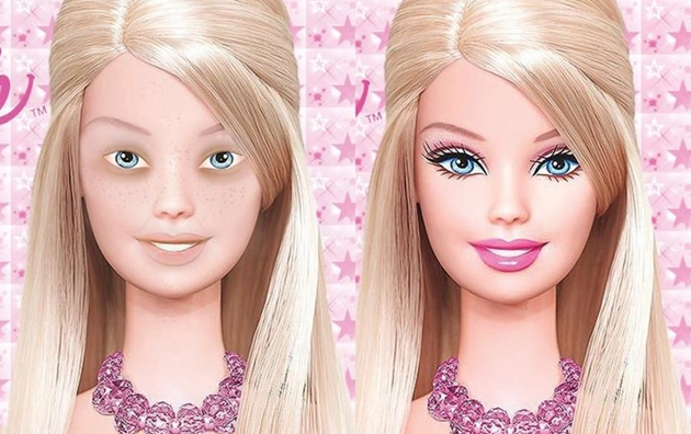 Barbie Without Makeup Pictures