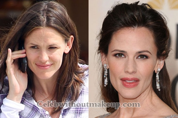 Jennifer Garner no makeup