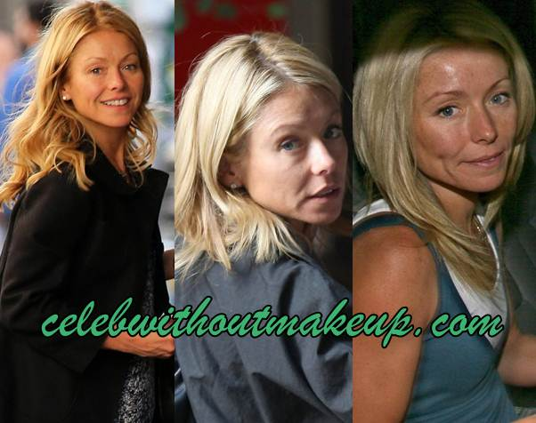 Kelly Ripa Without Makeup Celeb Without Makeup
