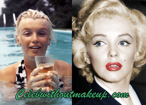 Marilyn Monroe No Makeup