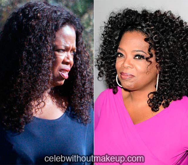 Oprah Winfrey Without Makeup