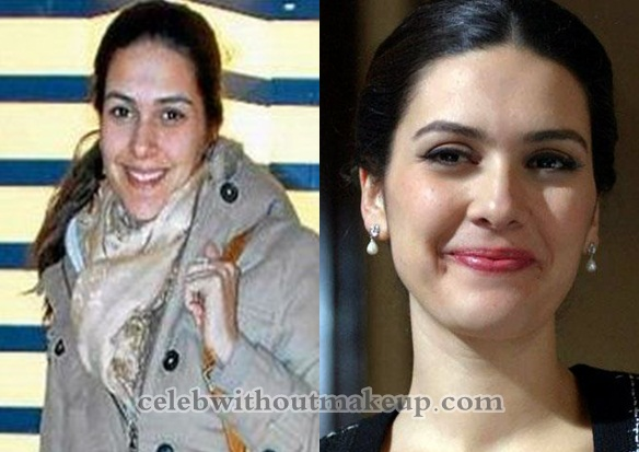 Bergüzar Korel No Makeup