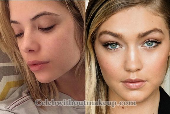 Gigi Hadid No Makeup Beauty