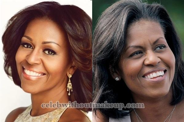 Michelle Obama No Makeup