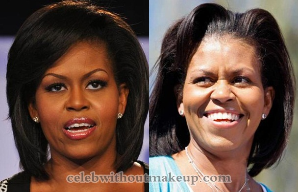 Michelle Obama Without Makeup