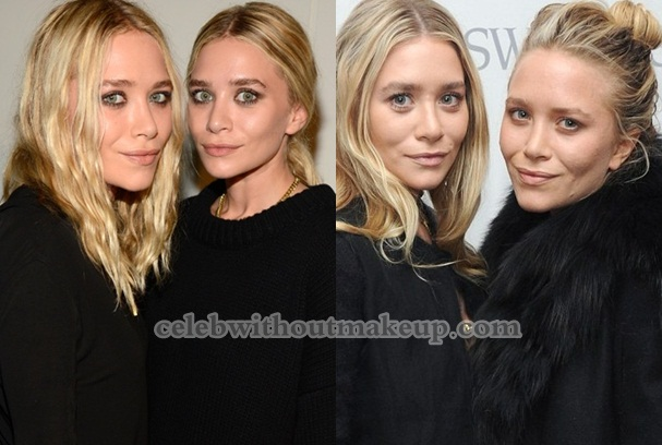 Olsen Twins No Makeup Face
