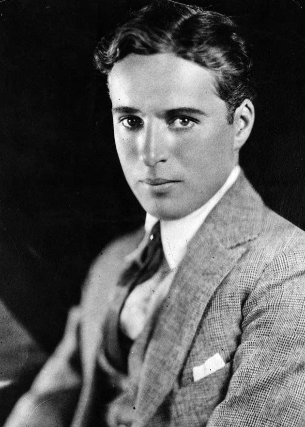 Charlie Chaplin Young without Makeup