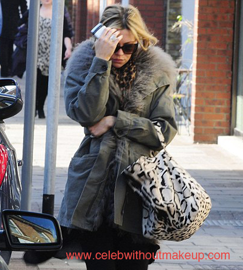 Abbey Clancy Exposed by Paparazzi