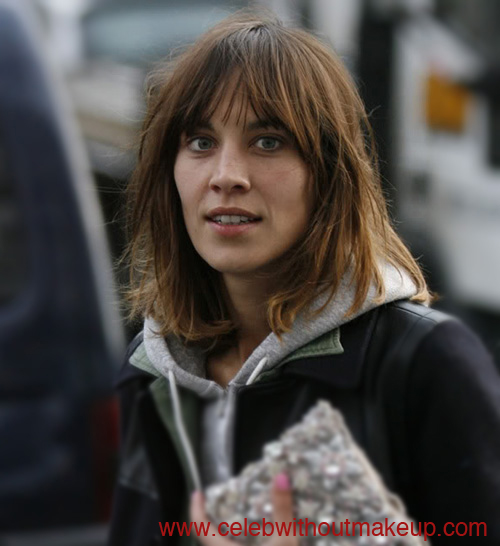 alexa chung celeb without makeup 2