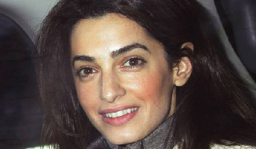 Amal Clooney No Makeup