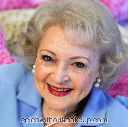Betty White Celeb Without Makeup 2