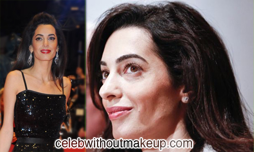 Amal Clooney Celeb Without Makeup 2
