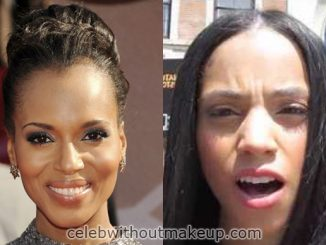 Bianca Lawson Before and After Makeup