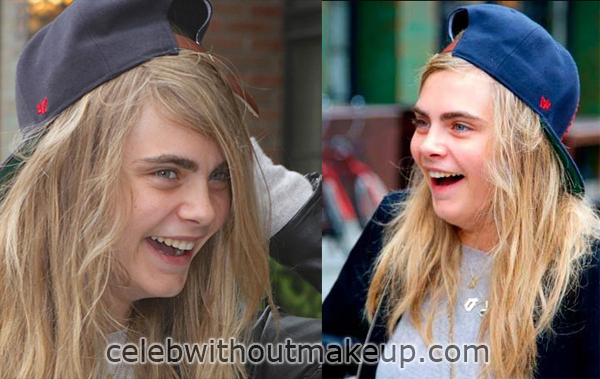 Cara Delevingne Without Makeup