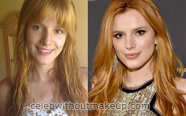 Bella Thorne No Makeup