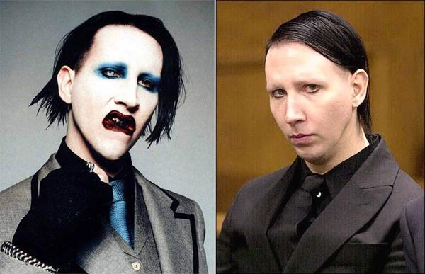 Mairlyn Manson No Makeup