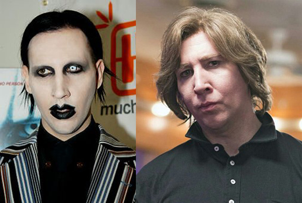 Mairlyn Manson Without Makeup