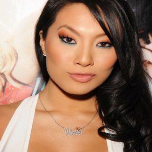 Asa Akira With Makeup