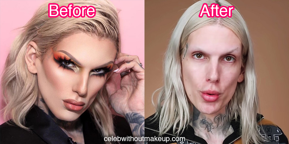 Jeffree Star No Makeup