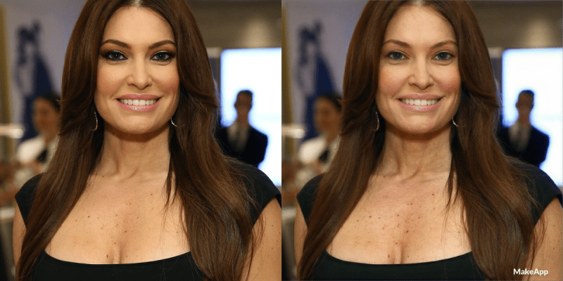Kimberly Ann Guilfoyle Without Makeup - Before and After
