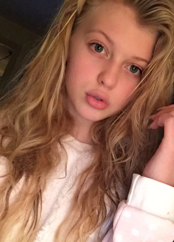 A young Loren Gray with no makeup