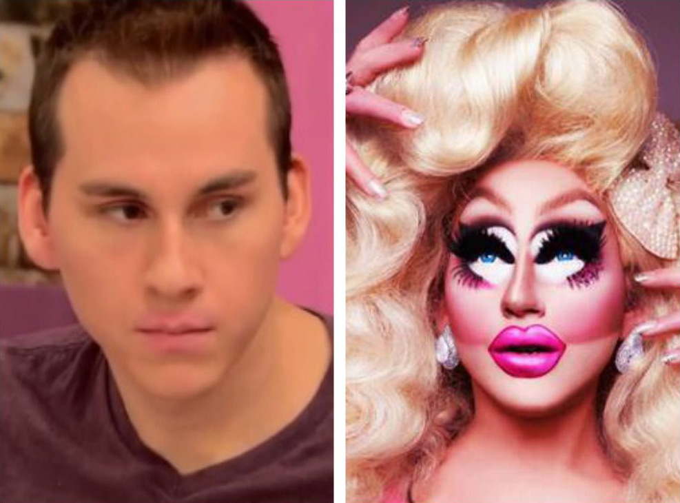 Trixie Mattel with no makeup