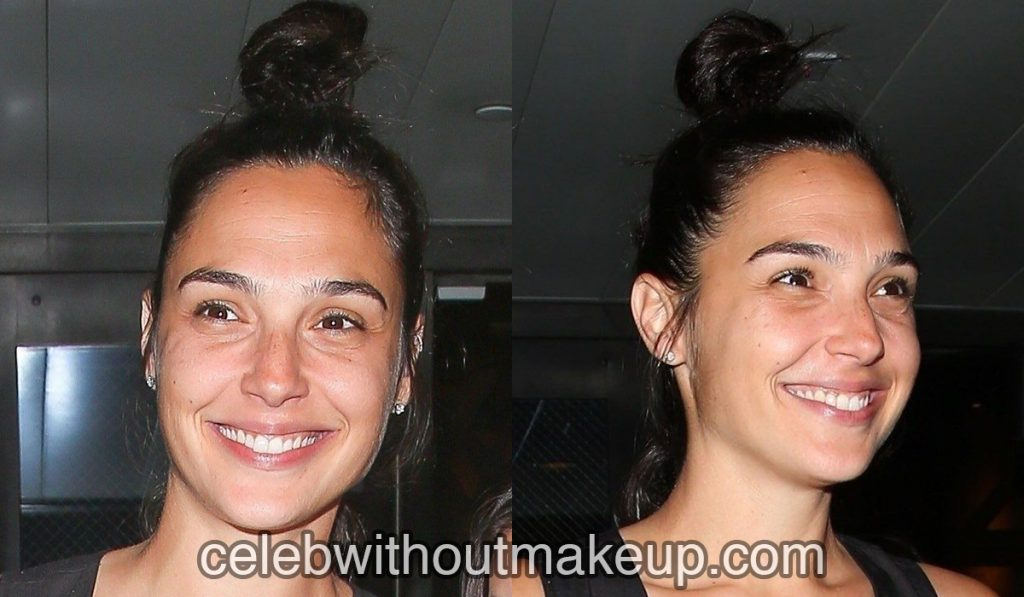 Gal Gadot no makeup