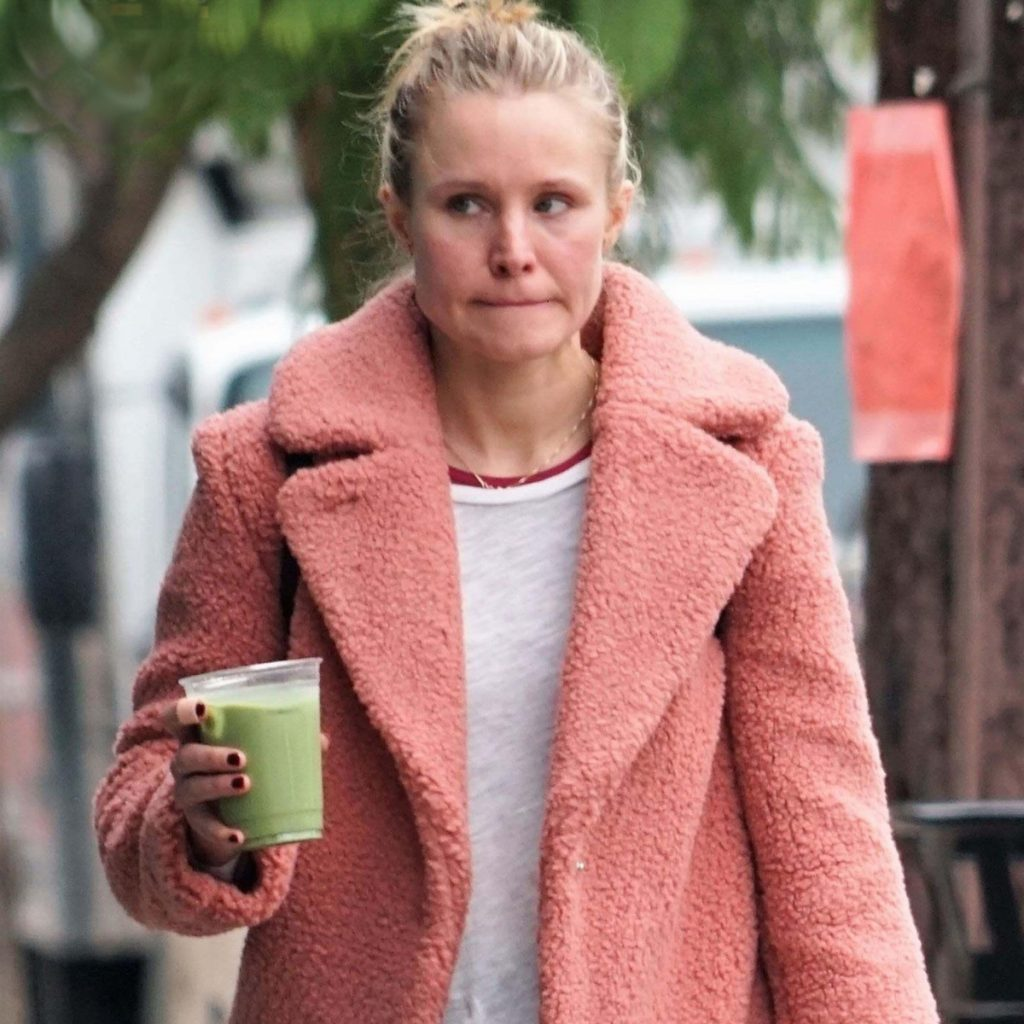Kristen Bell without makeup au natural