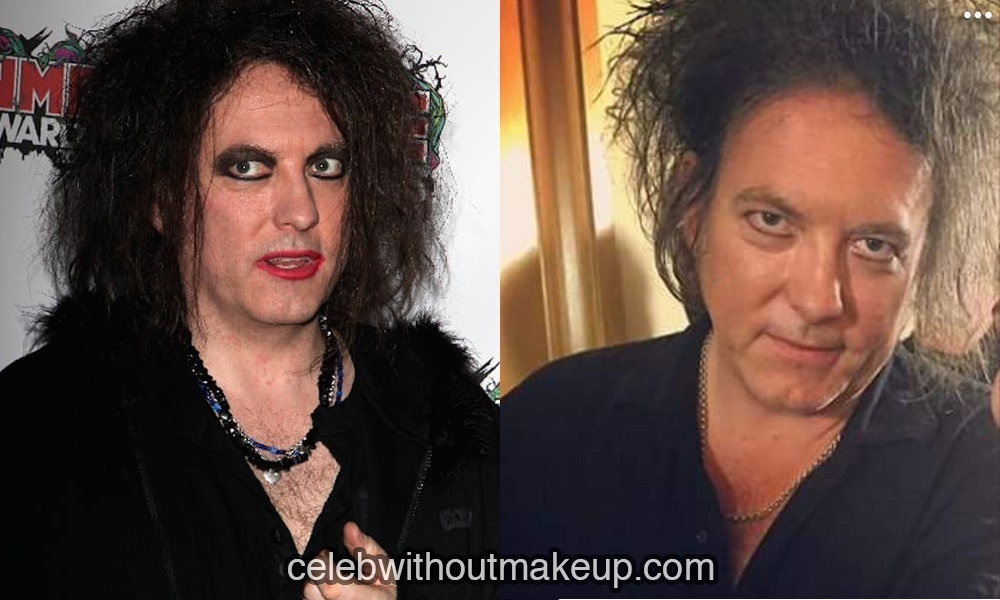Robert Smith no makeup