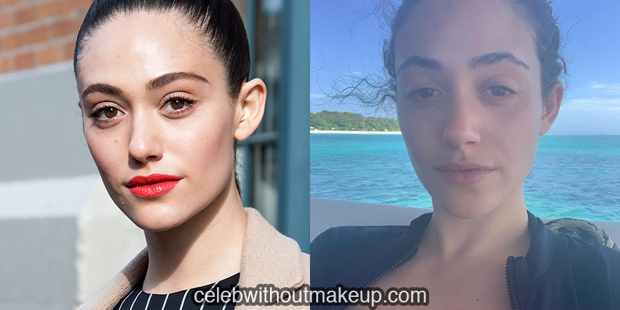 Emmy Rossum without makeup