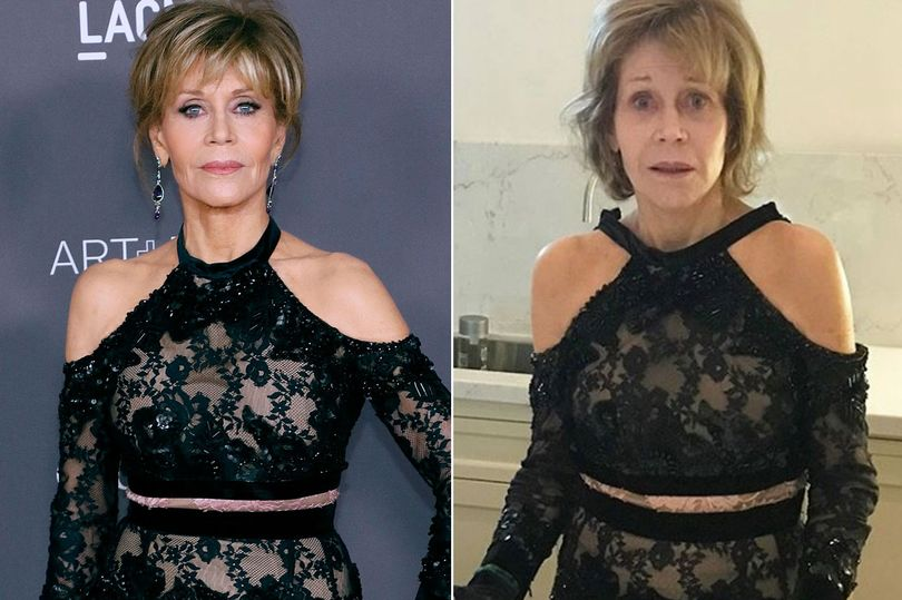 Jane Fonda no makeup