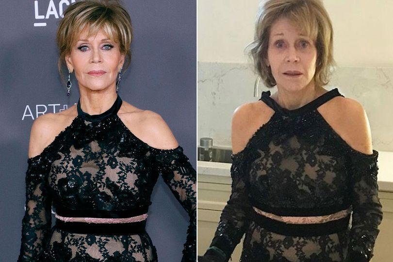 Jane Fonda no makeup