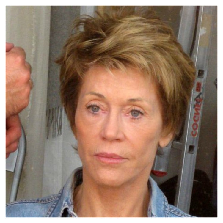 Jane Fonda without makeup