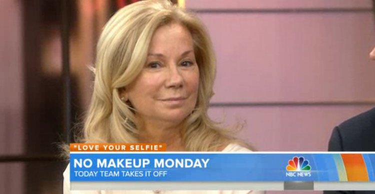 Kathie Lee Gifford with no makeup