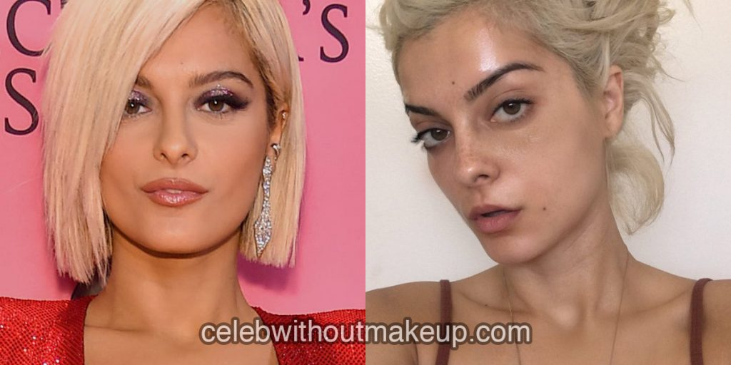 MBebe Rexha without makeup