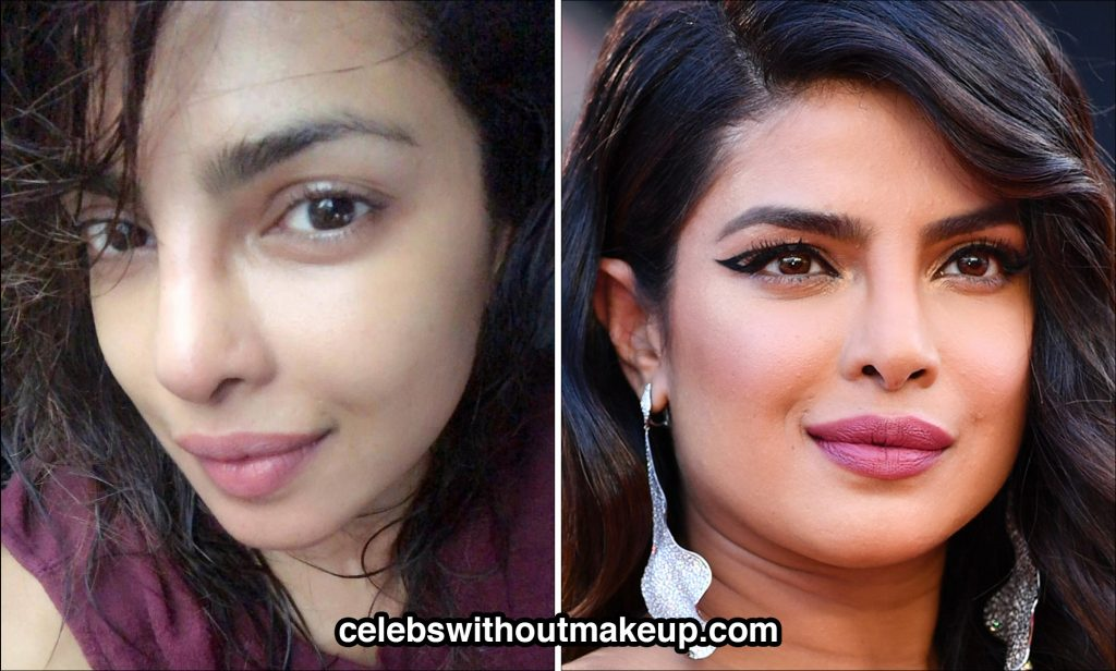 Priyanka Chopra no makeup