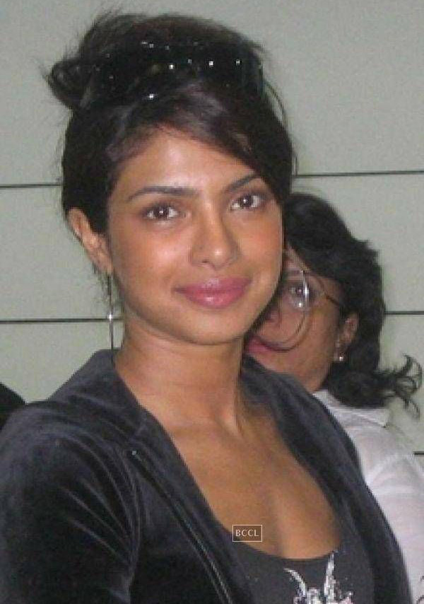 Priyanka Chopra without makeup pic