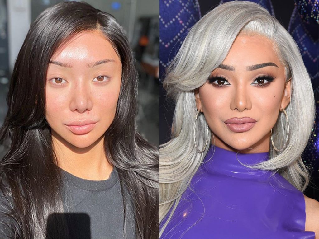 Nikita Dragun no makeup